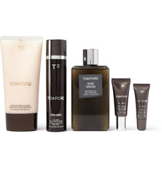 Tom Ford Beauty Grooming Kit and Leather Wash Bag