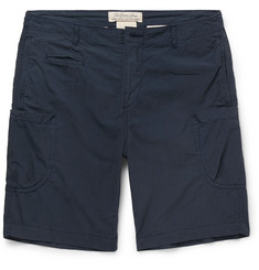 Remi Relief Cotton and Nylon-Blend Shorts