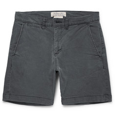 Remi Relief - Slim-Fit Cotton-Blend Twill Shorts