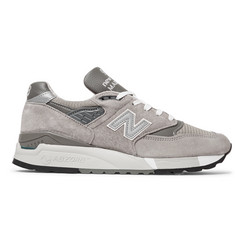 New Balance 998 Suede, Textured-Leather and Mesh Sneakers