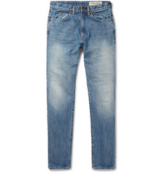 KAPITAL Okabilly Slim-Fit Distressed Denim Jeans