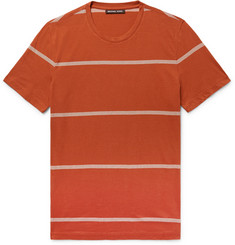 Michael Kors Slim-Fit Striped Pima Cotton T-Shirt