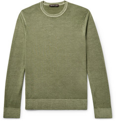 Michael Kors Washed Merino Wool Sweater