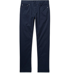 Michael Kors Slim-Fit Brushed Stretch-Cotton Twill Trousers