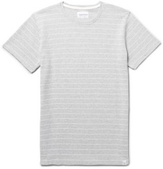 Norse Projects Esben Striped Stretch-Cotton Jersey T-Shirt