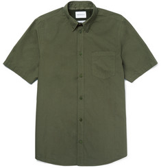 Norse Projects Anton Slim-Fit Button-Down Collar Cotton-Poplin Shirt