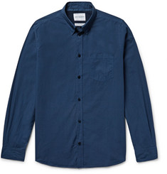 Norse Projects Anton Slim-Fit Garment-Dyed Cotton-Poplin Shirt