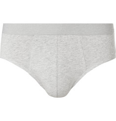 Acne Studios Harald Mélange Stretch-Cotton Briefs
