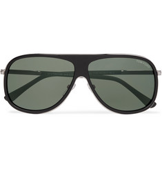TOM FORD Chris Aviator-Style Acetate Sunglasses