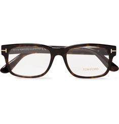 TOM FORD Justin Metal and Acetate Square-Frame Polarised Sunglasses