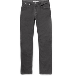 nonnative - Dweller Slim-Fit Overdyed Cotton-Twill Jeans