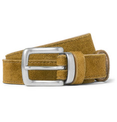 nonnative 2.5cm Brown Roamer Suede Belt