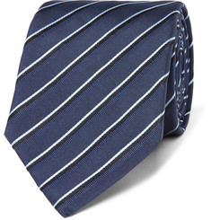 Hugo Boss - 7.5cm Striped Silk-Jacquard Tie