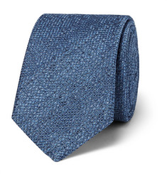 Hugo Boss - 6cm Silk and Wool-Blend Jacquard Tie