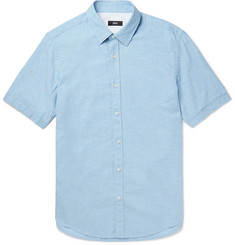Hugo Boss - Luka Cotton and Linen-Blend Shirt