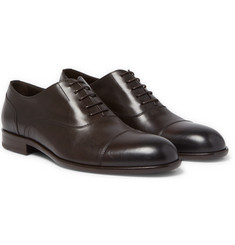 Hugo Boss - Manhattan Cap-Toe Leather Oxford Shoes