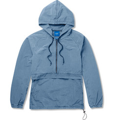 Beams Cotton-Blend Hooded Anorak