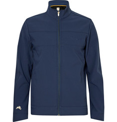 Tracksmith Nor'easter Water-Repellent Bonded Stretch-Shell Jacket