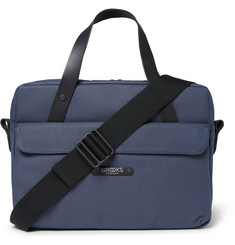 Brooks England Lexington Coated-Canvas Briefcase