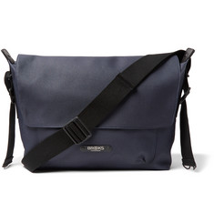 Brooks England Crosby Coated Cotton-Canvas Messenger Bag