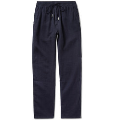 Vilebrequin Pacha Brushed-Linen Drawstring Trousers