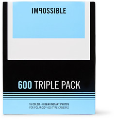 impossible Project Three Pack of Polaroid 600 Assorted Instant Film