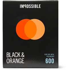impossible Project Polaroid 600 Duochrome Black & Orange Instant Film