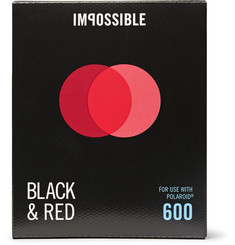 impossible Project Polaroid 600 Duochrome Black & Red Instant Film