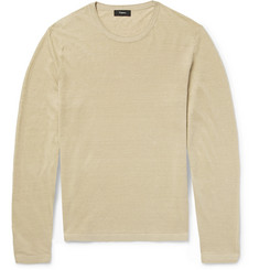 Theory - Berthos Linen-Blend Sweater