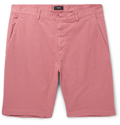 Theory Zaine Slim-Fit Stretch-Cotton Shorts
