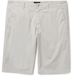 Theory - Zaine Slim-Fit Stretch-Cotton Twill Shorts