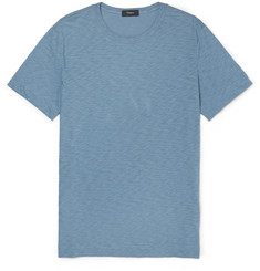 Theory - Gaskell Slim-Fit Slub Cotton-Jersey T-Shirt
