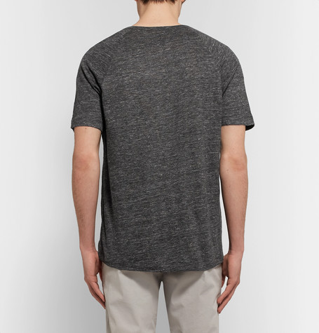THEORY Dustyn Linen T-Shirt