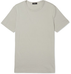 Theory - Gaskell Slim-Fit Cotton-Piqué T-Shirt