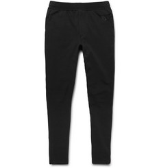 Nike NikeLab Essentials Tapered Stretch-Cotton Fleece Sweatpants