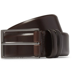 Hugo Boss 3.5cm Brown Carmello Leather Belt