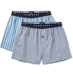 Hugo Boss - Two-Pack Cotton Boxer Shorts