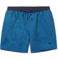 Hugo Boss - Piranha Mid-Length Printed Swim Shorts