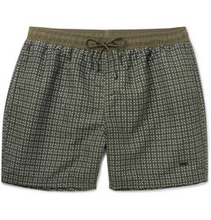 Hugo Boss Piranha Mid-Length Printed Swim Shorts