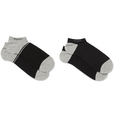 Hugo Boss - Two-Pack Stretch Cotton-Blend No-Show Socks