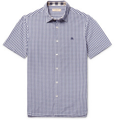 Burberry Slim-Fit Gingham Cotton Shirt