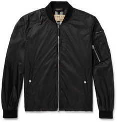 Burberry - Slim-Fit Nylon Bomber Jacket