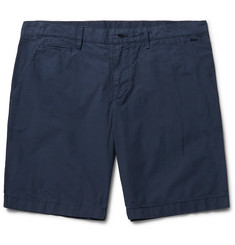 Burberry Cotton-Poplin Chino Shorts
