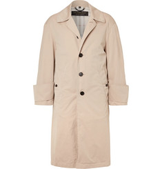 Burberry - Runway Oversized Cotton-Gabardine Trench Coat