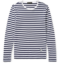 Burberry Runway Striped Cotton-Jersey T-Shirt