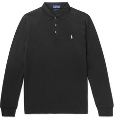 Polo Ralph Lauren Stretch-Cotton Piqué Polo Shirt