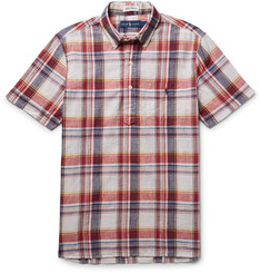 Polo Ralph Lauren Slim-Fit Madras-Checked Cotton Shirt