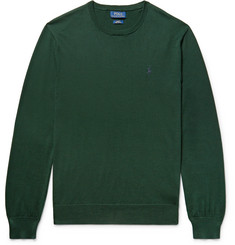 Polo Ralph Lauren - Slim-Fit Pima Cotton Sweater