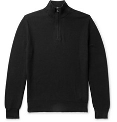 Polo Ralph Lauren - Waffle-Knit Cotton Half-Zip Sweater