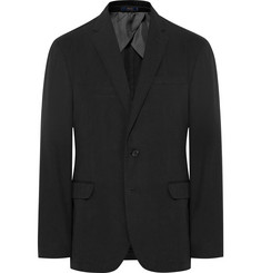 Polo Ralph Lauren Black Morgan Slim-Fit Garment-Dyed Cotton-Ripstop Blazer